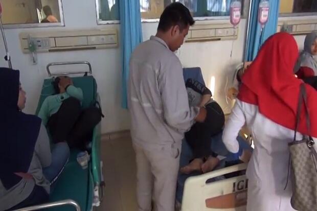 Tabung Kimia PT OSS Meledak, 19 Pekerja Masuk Rumah Sakit