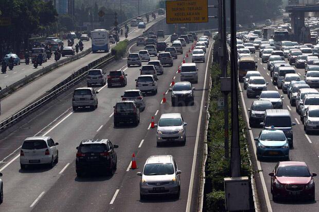 Jasa Marga Perpanjang Uji Coba Contraflow Jalan Tol Dalam Kota