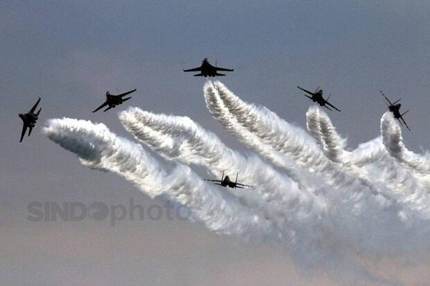 Peringati Hari Kemerdekaan, 14 Pesawat Tempur Bakal Beraksi di Langit Jakarta