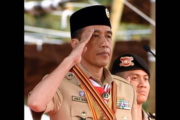Presiden Jokowi Minta Kepala Daerah Perhatikan Pramuka