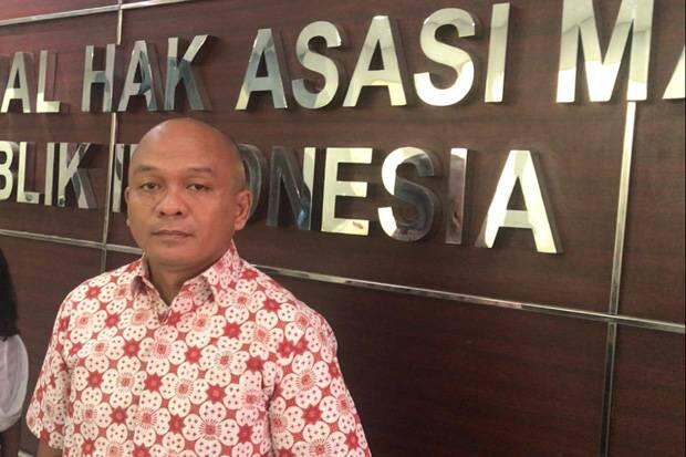 Dianiaya Depan Anak, Petani Sawit Mengadu ke Komnas HAM