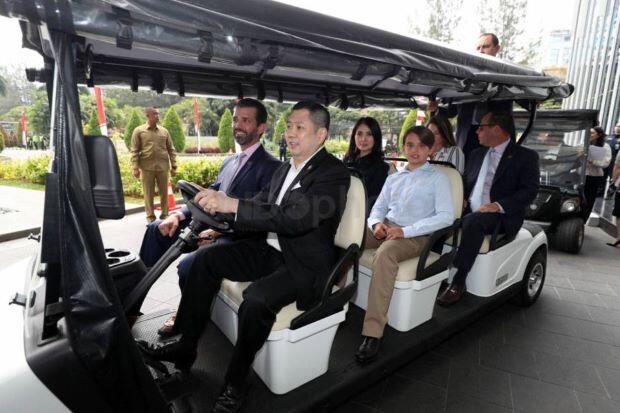 MNC Land - Trump Bangun Destinasi Terbaik, HT Optimistis Dongkrak Wisman ke Indonesia