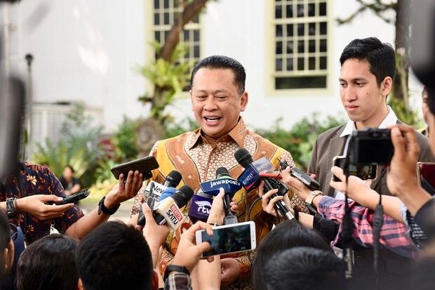 Temui Presiden di Istana, Bamsoet: Bukan untuk Mencari Dukungan