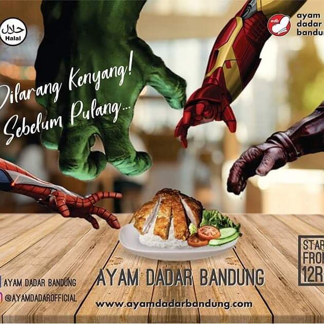 Peluang usaha Ayam Dadar Bandung ,Franchise waralabA kuliner