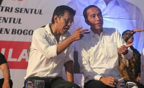 Adian ke Istana Bertemu Jokowi, Jadi Calon Menteri?