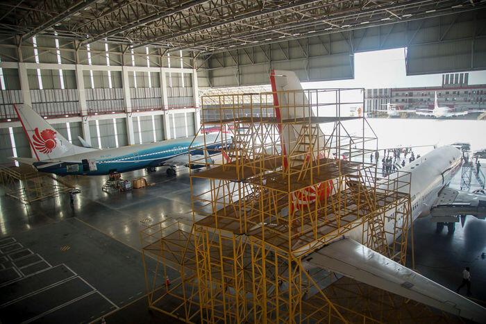 Garuda dan Lion Air mulai bangun proyek bengkel pesawat