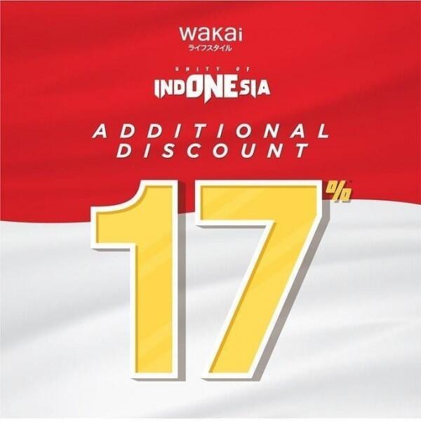 10 Promo Produk Lifeystyle Menjelang Hari Kemerdekaan, Siap Borong!