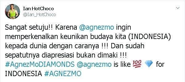 Agnez Mo Siapkan Budaya Papua di MV Diamonds, Begini 10 Reaksi Netizen