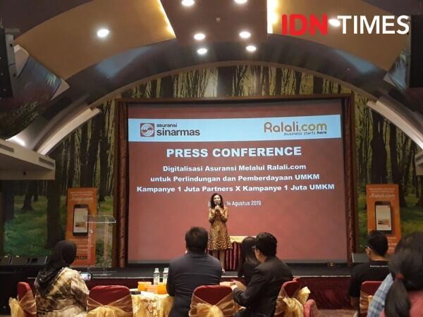 Gandeng Ralali.com, Sinar Mas Targetkan Sejuta Partner