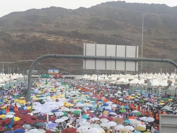 5 Fakta Kabar Adanya Hujan Es dan Banjir Landa Jemaah Haji di Makkah