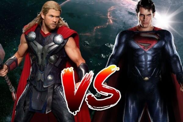 5 Penjelasan Jika Thor Melawan Superman, Siapa yang Menang?