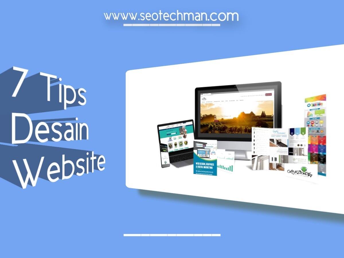 7 Tips Desain Website Keren Untuk Pemasaran Digital Anda