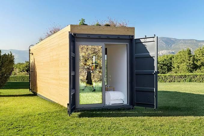 Wih Indahnya, Ini Dia Rumah Dari Container Yang Diterapkan di Inggris