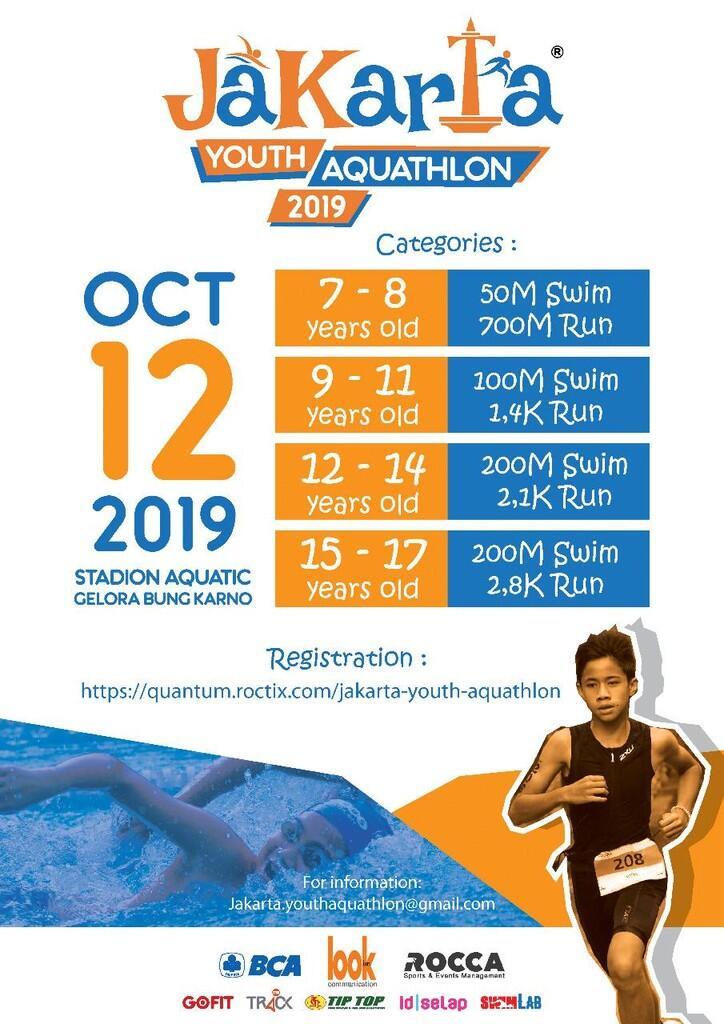 Jakarta Youth Aquathlon 2019