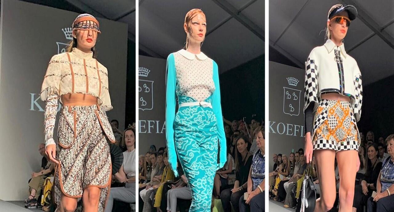 Batik dan Tenun Rancangan Desainer Mancanegara Hiasi Panggung Fashion Roma!