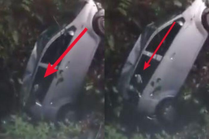 """Video """"PENAMPAKAN"""" Tangan HANTU Pucat Berjari Panjang Saat Evakuasi Mobil!"""