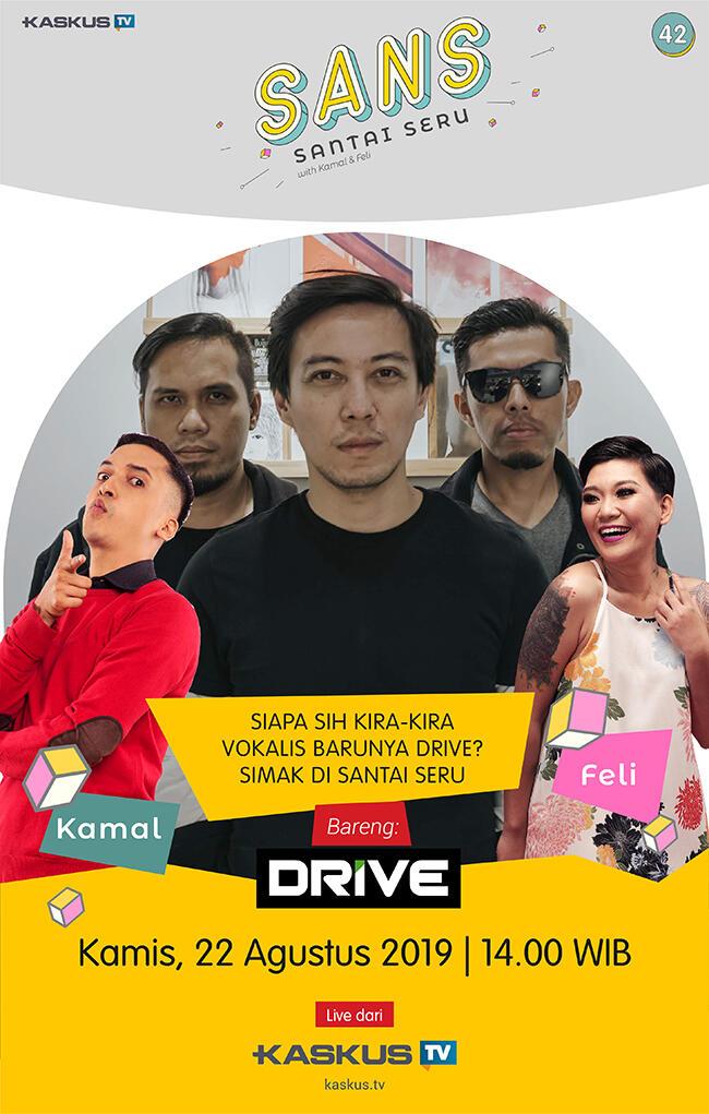 Ngobrolin Bekasi yang Mau Gabung DKI bareng Band DRIVE, Cuma di SANS!