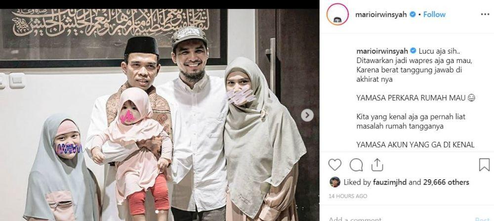 7 Selebriti Ini Beri Dukungan pada Ustaz Abdul Somad di Tengah Segala Tuduhan
