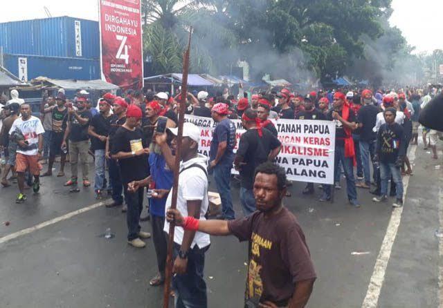 Rusuh di Tanah Papua: Urutan Kejadian dan Penanganan Setelahnya