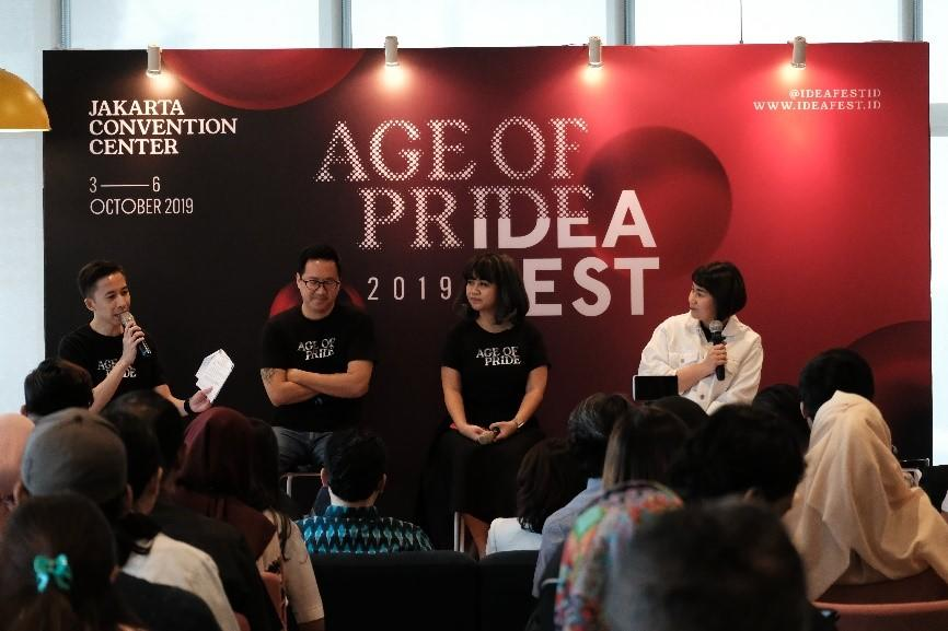 Serukan Semangat #KebangganIndonesia Lewat IdeaFest 2019 yang Bertajuk Age of Pride!