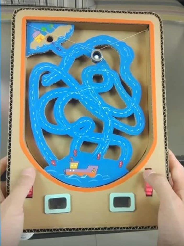 Permainan Unik Dari Kardus Cegah Anak Kecanduan Gadget   KASKUS