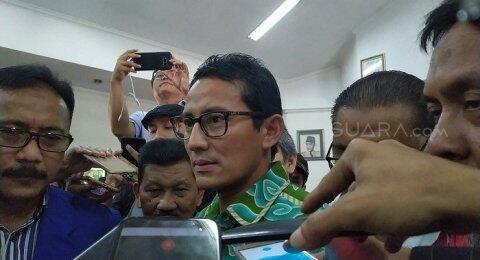 Kritik Jokowi, Sandiaga: Pemindahan Ibu Kota Harus Lewat Referendum