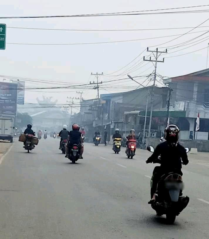 Ribuan Titik Polusi Udara/Jerebu Ini Sangat Memprihatinkan