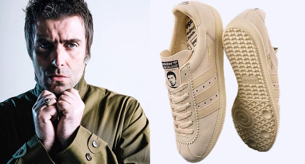 Sneakers Kolaborasi Liam Gallagher x adidas Ini Simpel dan Berkelas Banget Gan!