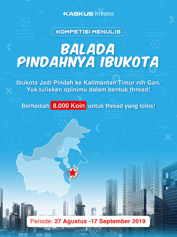 Ibu Kota Indonesia Pindah? Ceritakan Opini Gan Sist di Sini, Dapatkan Bonus Koinnya!