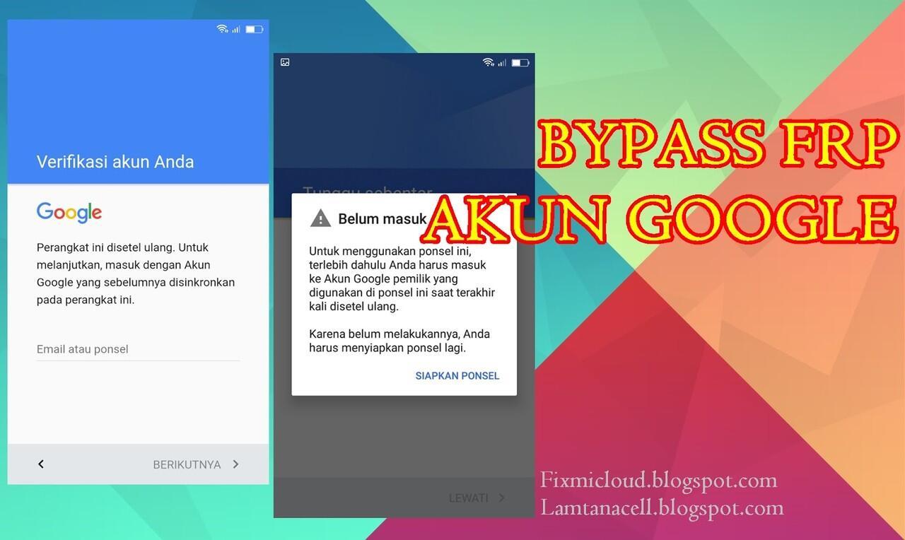Cara Bypass FRP Akun Google pada Tipe Wiko All Series 100