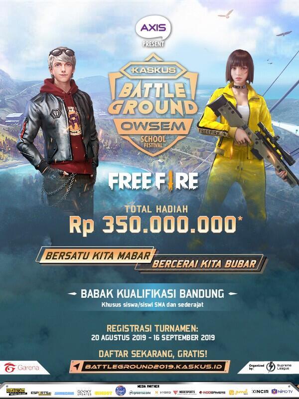 Registrasi KASKUS Battleground Owsem School Festival – Bandung Diperpanjang!