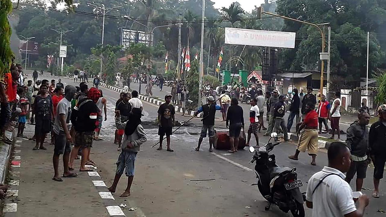 Kerusuhan Terjadi di Jayapura, Massa Bakar Kantor Majelis Rakyat Papua