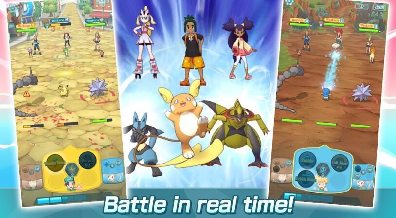 Pokemon Masters Resmi Dirilis di Android dan iOS