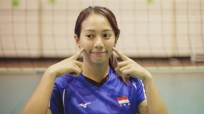 4 Atlet Voli Wanita Asal Indonesia Dengan Paras Menawan, Awas Kena Smash Gan!