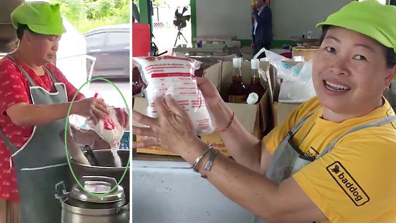Begini Tanggapan Penjual di Thailand yang Viral Karena Pakai MSG Dalam Jumlah Banyak!