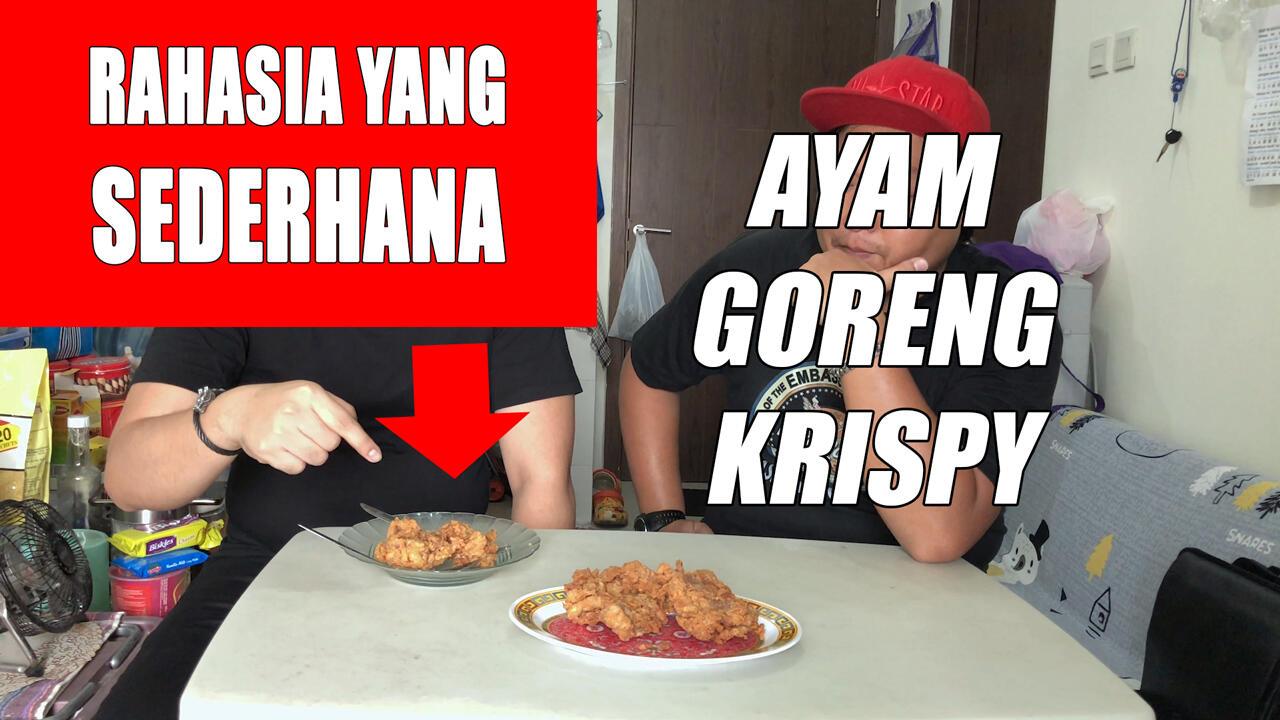 [VIDEO] Masak sendiri ayam goreng crispy Kaefci (Garing - Guring - Mudah)