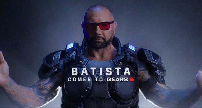 Gears 5 Kehadiran Pegulat WWE Dave Bautista
