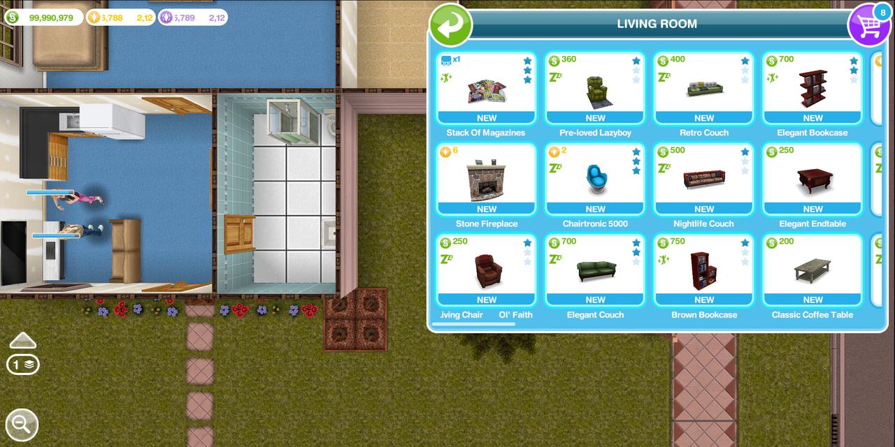 The Sims FreePlay, Latihan Buat Bikin Rumah Tangga Ente Besok Nih!