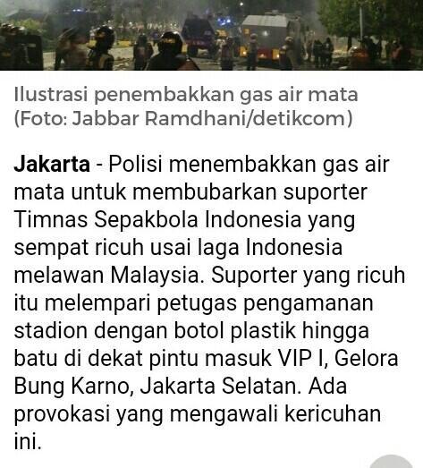Olahraga sepak bola memikat suporter indonesia, apa yang terjadi saat kisruh?