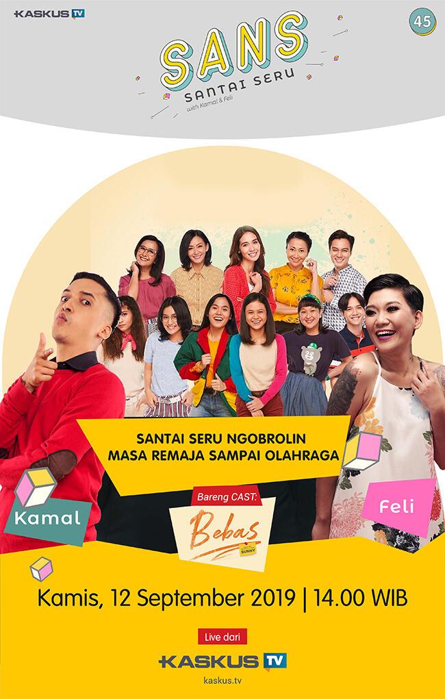 Yuk Obrolin Romantisme Masa Remaja & Polemik Badminton Nusantara, Eksklusif di SANS!