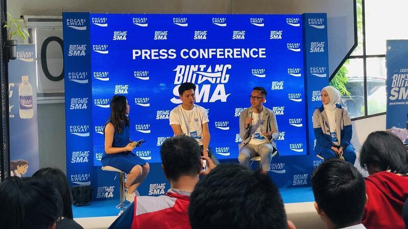 Pocari Sweat Bintang SMA Ajang Pencarian Bakat Online di Indonesia