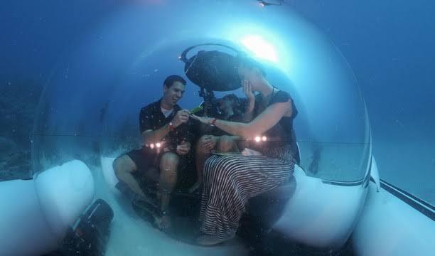 Taxi Bawah Laut Pertama Di Dunia