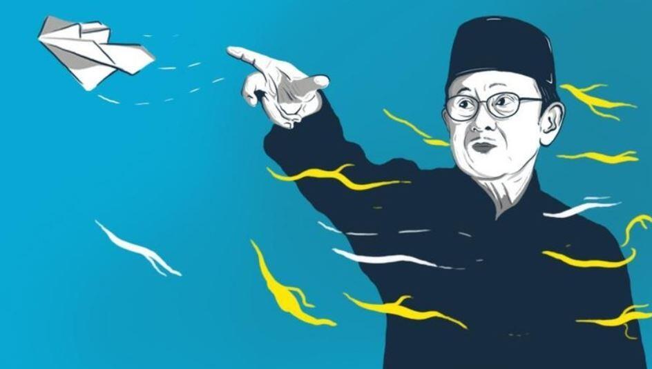 Jasa BJ Habibie Untuk Dunia Aviasi Indonesia
