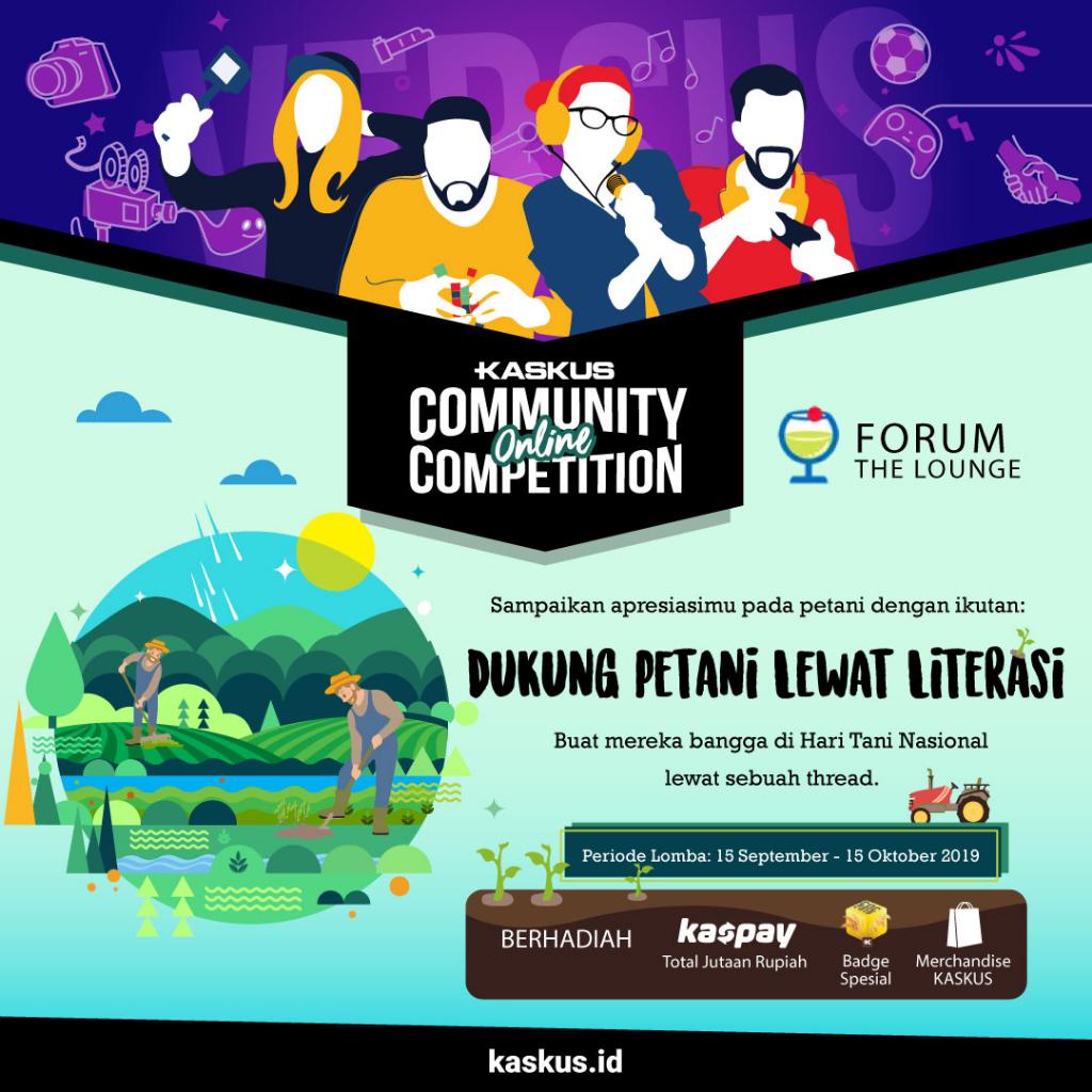 [COC] Thread Event Hari Tani - Komunitas Belajar Bersama Bisa