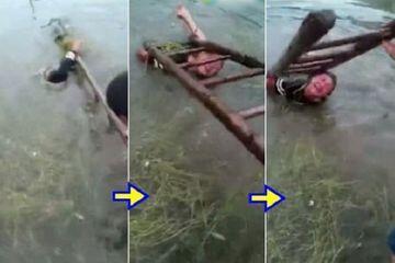 Biadab! Anak-Anak Ini Dihukum Dengan Kejam, No.1 Diikat Dan Ditenggelamkan