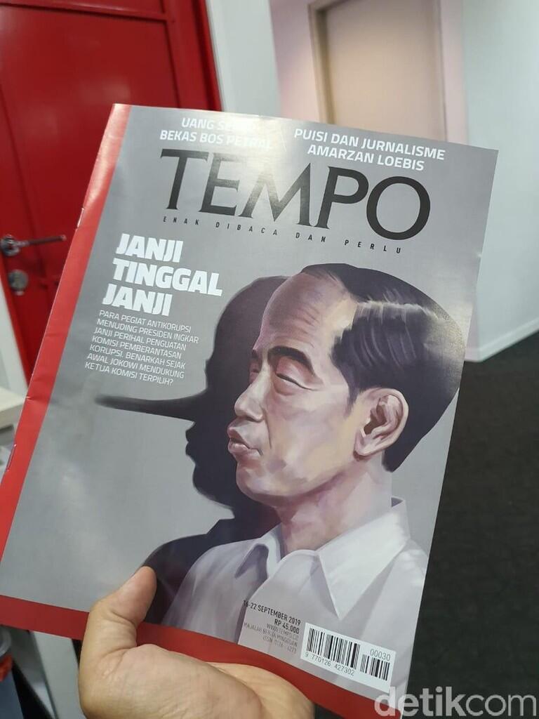 JoMan Laporkan Majalah Tempo ke Dewan Pers Gegara Siluet 'Jokowi Pinokio'