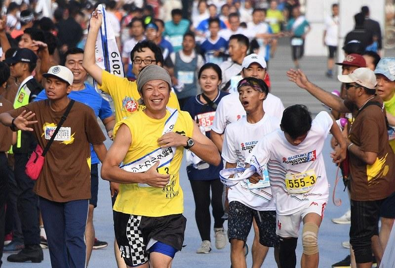 Perkuat Jepang-Indonesia, Anies hadiri Jakarta Kizuna Ekiden