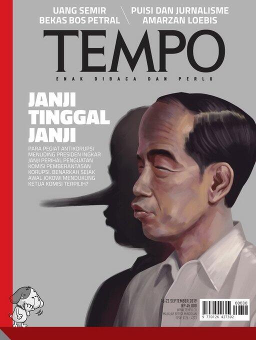 PDIP Protes Sampul Majalah Tampilkan Jokowi Berhidung Pinokio