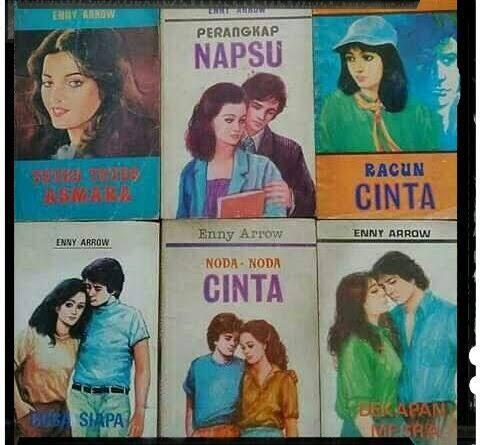 Enny Arrow Penulis Legendaris Indonesia 🙄