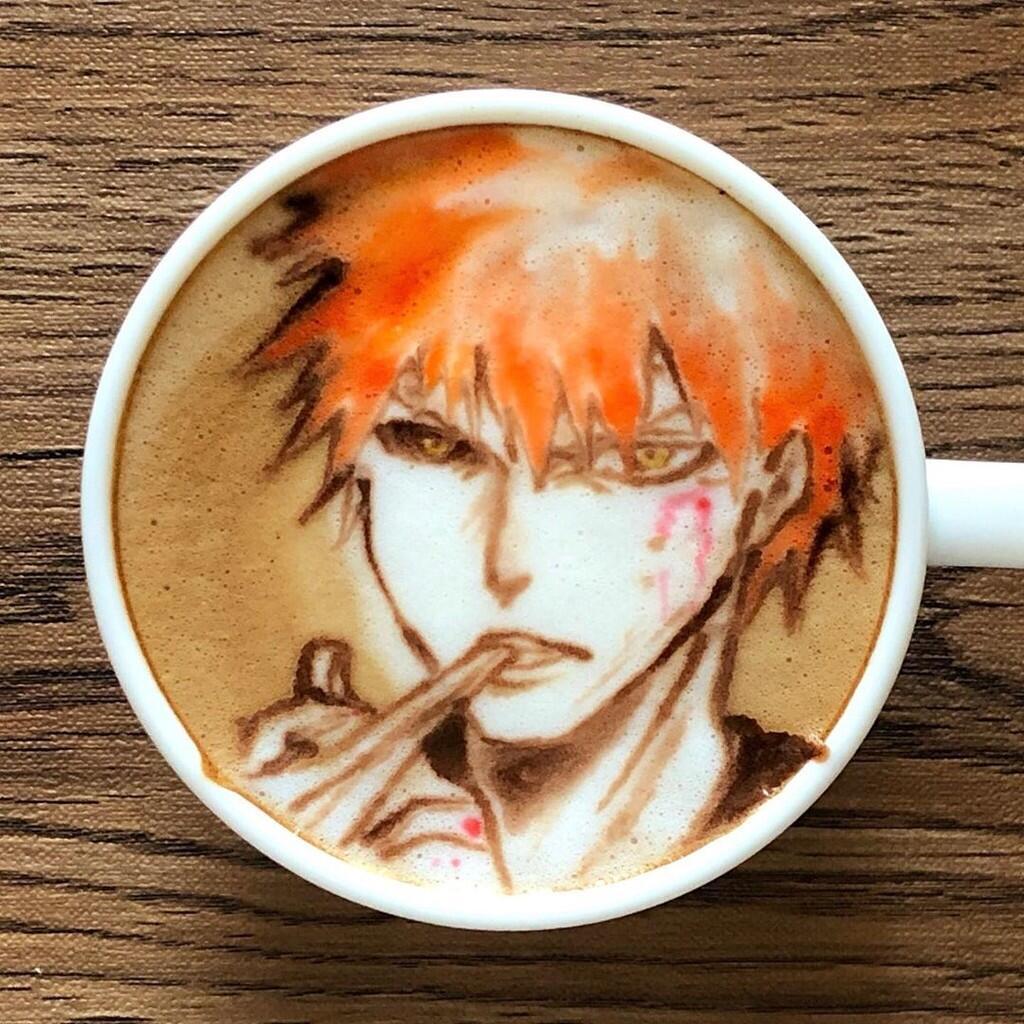 Masuk Gan ! Yuk Intip Latte Art Keren karya Barista Jepang yang Satu ini